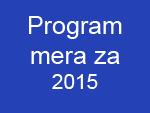 Program mera 2015